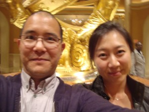 Sungyoon and me at the Venetian