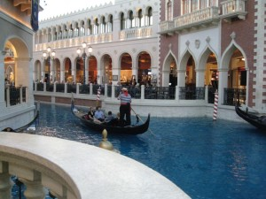 The Venetian— so romantic, so manufactured, and so magical.