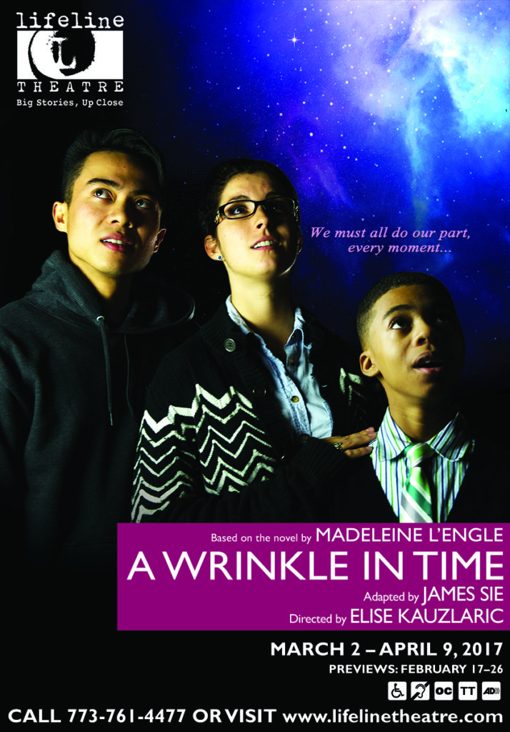 Image result for a wrinkle in time lifeline theatre poster